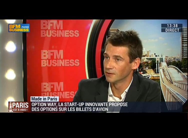 Mathieu Chauvin dans Paris est à vous sur BFM Business