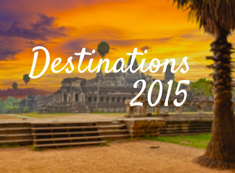 destinations voyage 2015