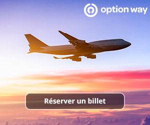Réserver un billet d'avion pas cher sur Option way