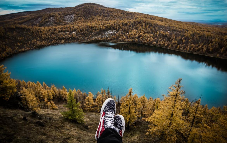 lacs colorés