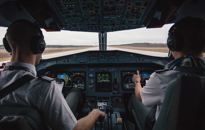 secrets de pilote d'avion