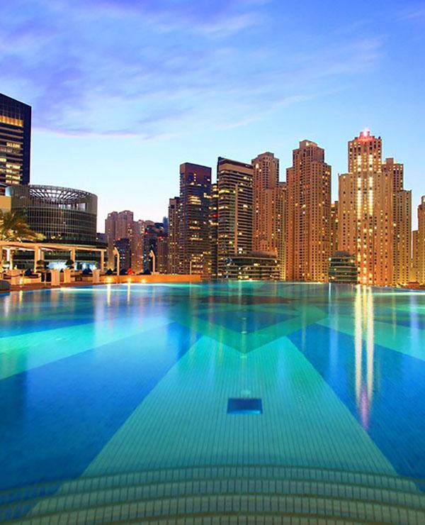 The Shades dans l'hôtel Address Dubaï Marina
