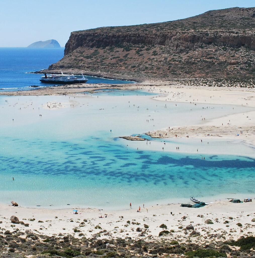 Le lagon de Balos en Crète