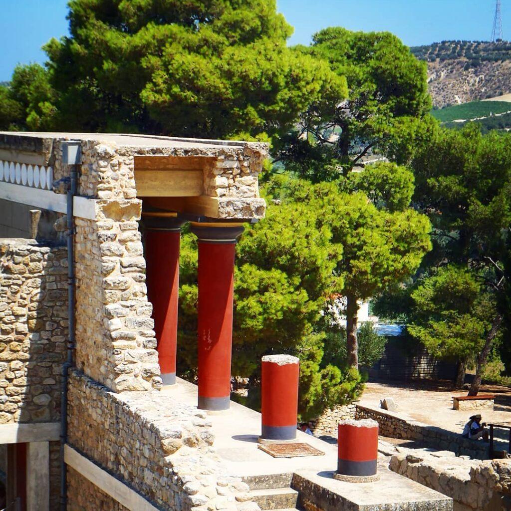 Palais Cnossos en Crète